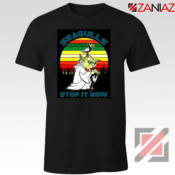 Seagulls Stop It Now T-shirt Bad Lip Reading Tee Shirt Size S-3XL Black