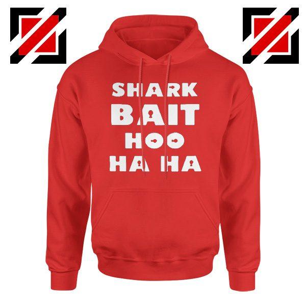 Shark Bait Hoodie American Animated Film Hoodie Size S-2XL Red