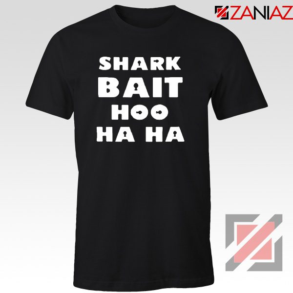 Shark Bait T-Shirt American Animated Film T-Shirt Size S-3XL Black
