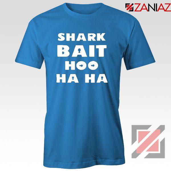 Shark Bait T-Shirt American Animated Film T-Shirt Size S-3XL Blue