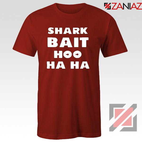 Shark Bait T-Shirt American Animated Film T-Shirt Size S-3XL Red