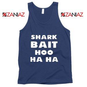 Shark Bait Tank Top American Animated Film Tank Top Size S-3XL Navy