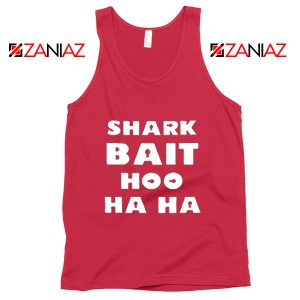Shark Bait Tank Top American Animated Film Tank Top Size S-3XL Red