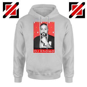 Songwriter DJ Khaled Hoodie Gift Music Best Hoodie Size S-2XL Sport Grey