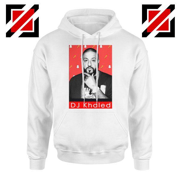 Songwriter DJ Khaled Hoodie Gift Music Best Hoodie Size S-2XL White