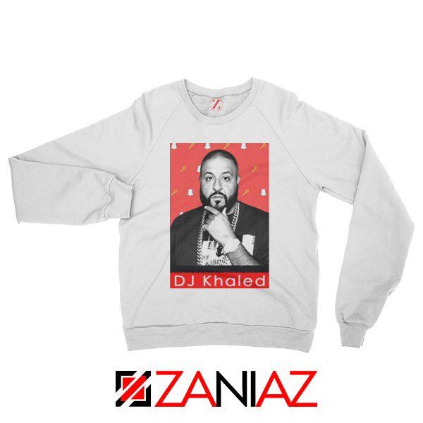 Songwriter DJ Khaled Sweatshirt Gift Music Sweatshirt Size S-2XL White