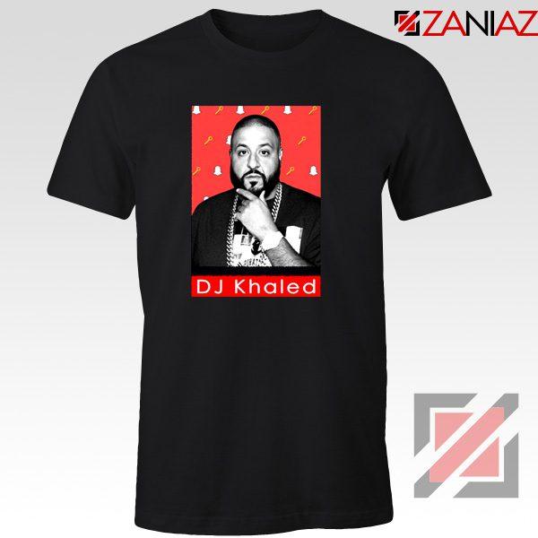 Songwriter DJ Khaled T-Shirts Gift Music T-shirt Size S-3XL Black