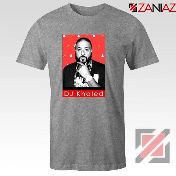 Songwriter DJ Khaled T-Shirts Gift Music T-shirt Size S-3XL Sport Grey