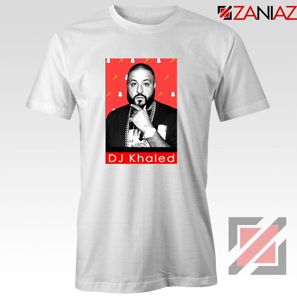 Songwriter DJ Khaled T-Shirts Gift Music T-shirt Size S-3XL White