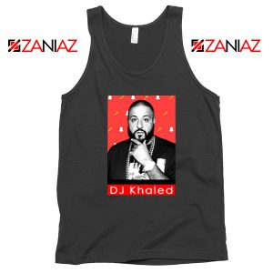 Songwriter DJ Khaled Tank Top Gift Music Cheap Tank Top Size S-3XL Black