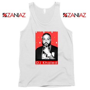 Songwriter DJ Khaled Tank Top Gift Music Cheap Tank Top Size S-3XL White