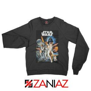 Star Wars A New Hope Sweatshirt Star Wars Movie Sweatshirt Size S-2XL Black