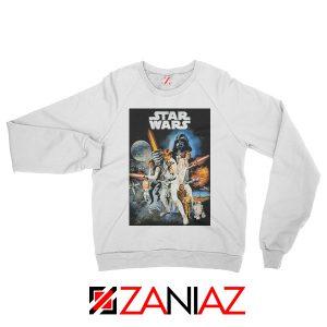 Star Wars A New Hope Sweatshirt Star Wars Movie Sweatshirt Size S-2XL White