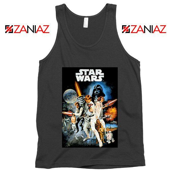 Star Wars A New Hope Tank Top Star Wars Movie Tank Top Size S-3XL Black