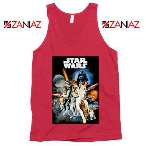 Star Wars A New Hope Tank Top Star Wars Movie Tank Top Size S-3XL Red