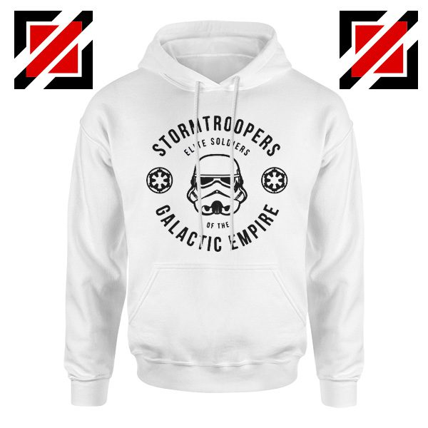 Star Wars Stormtroopers Empire Elite Best Hoodie Size S-2XL White