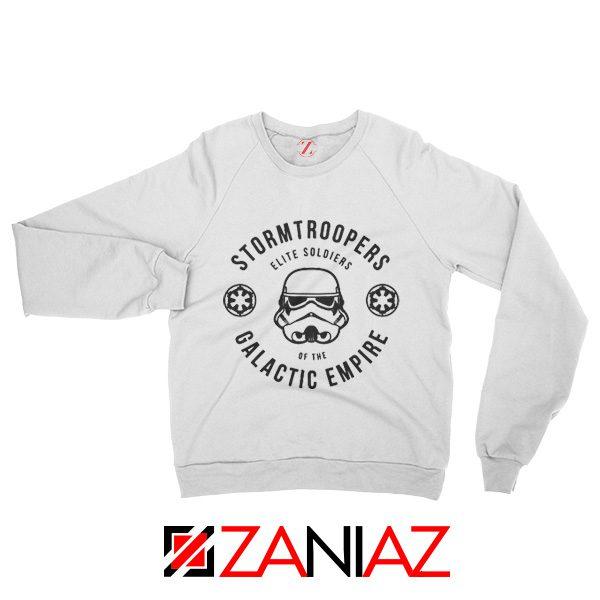 Star Wars Stormtroopers Empire Elite Best Sweatshirt Size S-2XL White