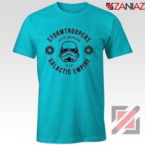 Star Wars Stormtroopers Empire Elite Best T-Shirt Size S-3XL Light Blue