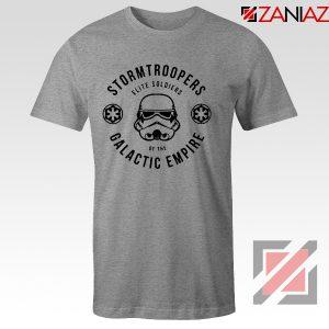 Star Wars Stormtroopers Empire Elite Best T-Shirt Size S-3XL Sport Grey