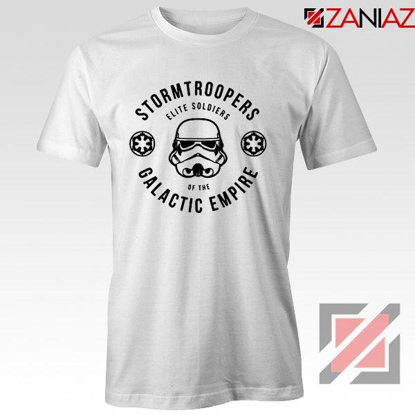 Star Wars Stormtroopers Empire Elite Best T-Shirt Size S-3XL White