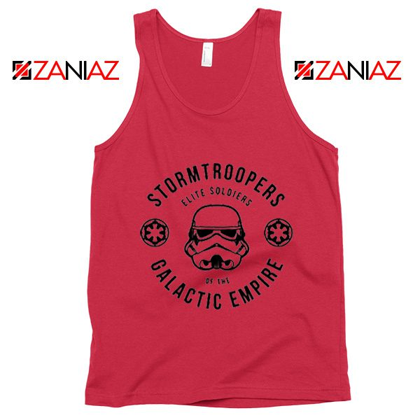 Star Wars Stormtroopers Empire Elite Best Tank Top Size S-3XL Red