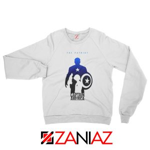 Steve Rogers as Captain America Sweatshirt Marvel Size S-2XL White
