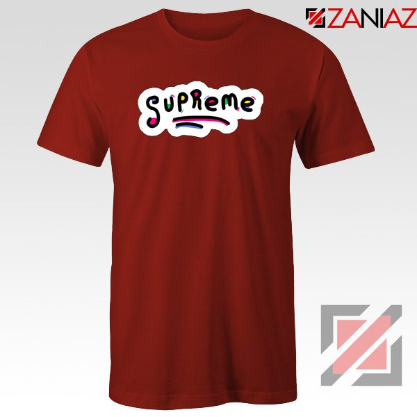 Sup Rugrats T-Shirt Funny Supreme Best T-Shirt Size S-3XL Red