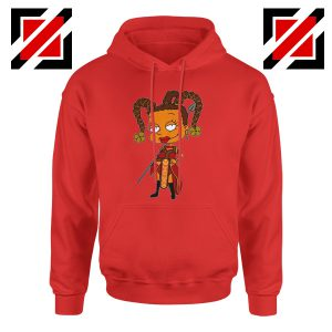 Susie Rugrats Wakanda Hoodie Funny Rugrats TV Series Size S-2XL Red