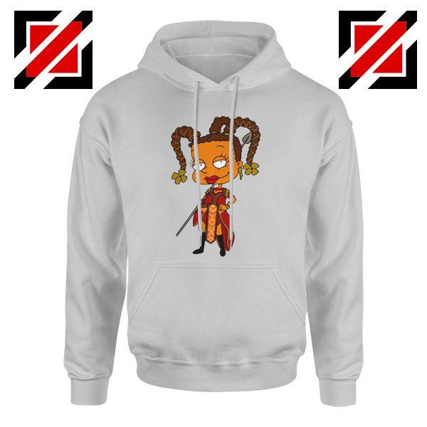 Susie Rugrats Wakanda Hoodie Funny Rugrats TV Series Size S-2XL Sport Grey