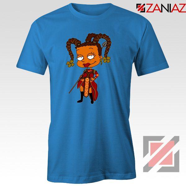 Susie Rugrats Wakanda T-shirt Funny Rugrats TV Series Size S-3XL Blue