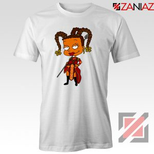 Susie Rugrats Wakanda T-shirt Funny Rugrats TV Series Size S-3XL White