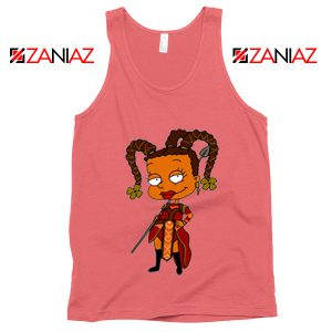 Susie Rugrats Wakanda Tank Top Funny Rugrats TV Series Size S-3XL Coral