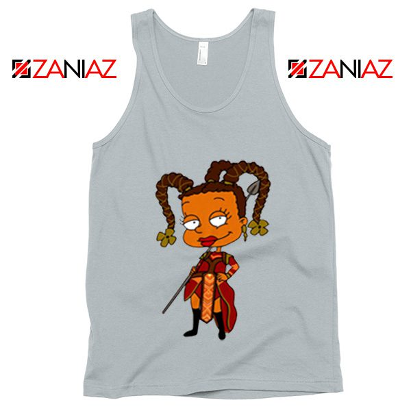 Susie Rugrats Wakanda Tank Top Funny Rugrats TV Series Size S-3XL Silver