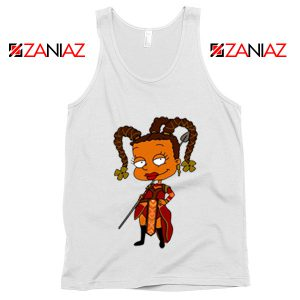 Susie Rugrats Wakanda Tank Top Funny Rugrats TV Series Size S-3XL White