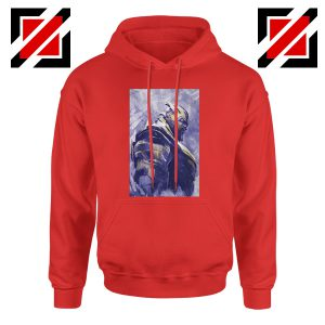 Thanos Best Hoodie Avengers Endgame Hoodie Size S-2XL Red