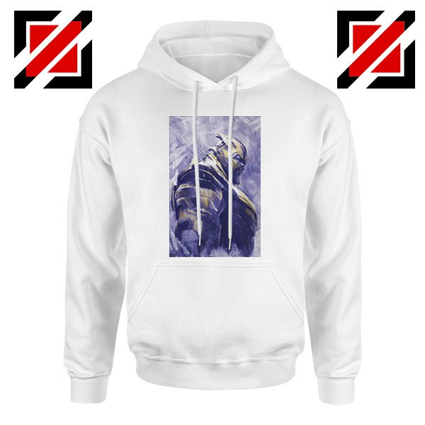 Thanos Best Hoodie Avengers Endgame Hoodie Size S-2XL White