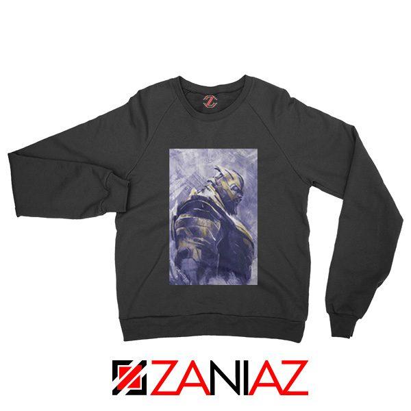 Thanos Best Sweatshirt Avengers Endgame Sweatshirt Size S-2XL Black