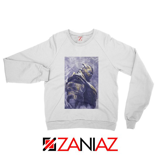Thanos Best Sweatshirt Avengers Endgame Sweatshirt Size S-2XL White