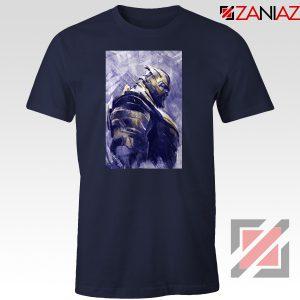 Thanos Best T-shirt Avengers Endgame Tee Shirt Size S-3XL Navy Blue