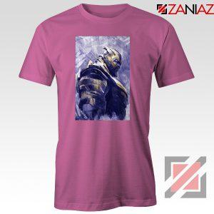 Thanos Best T-shirt Avengers Endgame Tee Shirt Size S-3XL Pink