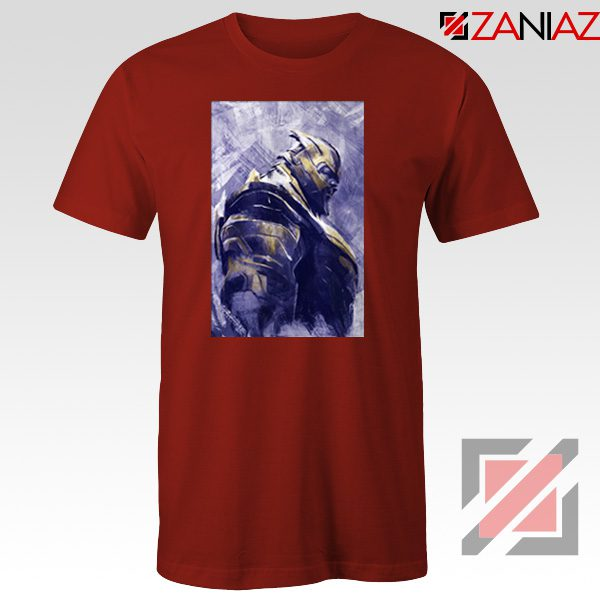 Thanos Best T-shirt Avengers Endgame Tee Shirt Size S-3XL Red