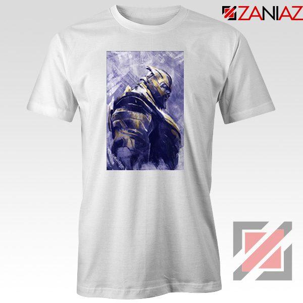 Thanos Best T-shirt Avengers Endgame Tee Shirt Size S-3XL White