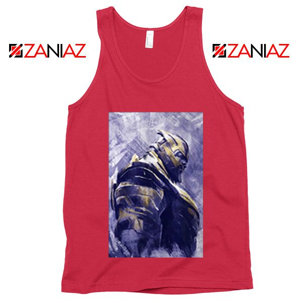 Thanos Best Tank Top Avengers Endgame Tank Top Size S-3XL Red