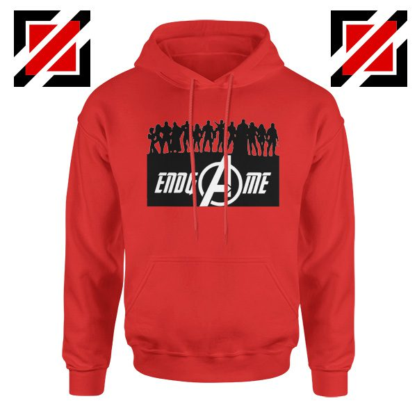 The Avengers Marvel Super Hero Best Hoodie Size S-2XL Red