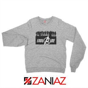 The Avengers Marvel Super Hero Best Sweatshirt Size S-2XL Sport Grey