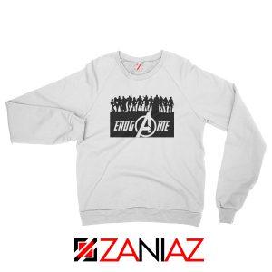 The Avengers Marvel Super Hero Best Sweatshirt Size S-2XL White