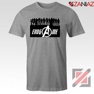 The Avengers Marvel Super Hero Best T-shirt Size S-3XL Grey