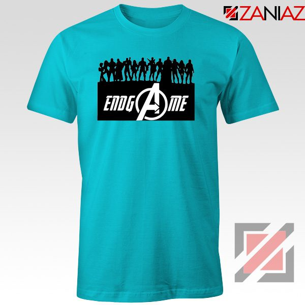 The Avengers Marvel Super Hero Best T-shirt Size S-3XL Light Blue
