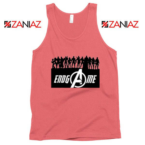 The Avengers Marvel Super Hero Best Tank Tops Size S-3XL Coral