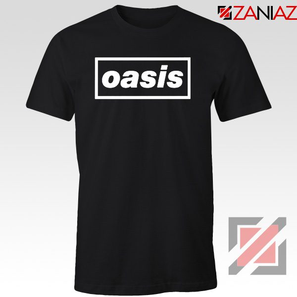 The Band Oasis T-Shirts Oasis UK Band Cheap Best T-Shirt Size S-3XL Black